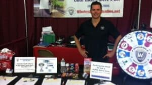 WholesaleWarranties.com Owner Jeff Shelton at RV Rally