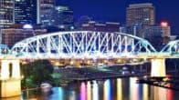 Nashville, TN Skyiline for RV Trip through Tennessee