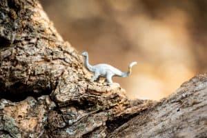 Dinosaur in Nature
