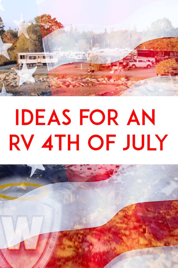 Pinterest - Ideas for an RV 4th of July