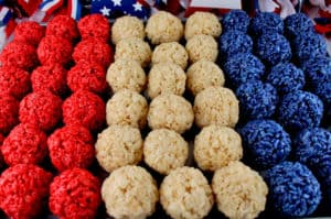 4th of July Rice Krispies