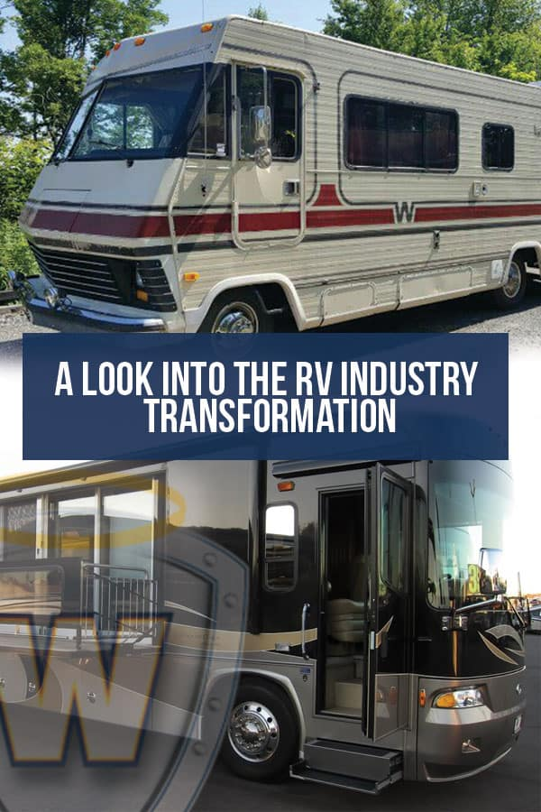 Pinterest Graphic: A Look Into the RV Industry Transformation