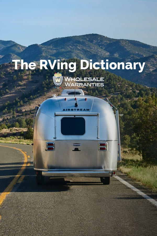 The RVing Dictionary Pinterest