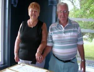 50th wedding anniversary - betty and winston brown