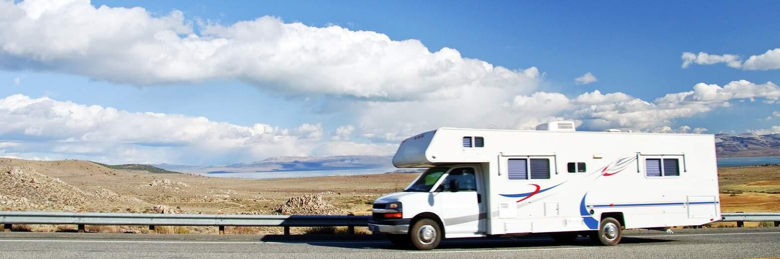 Motorhome Vacation At Yosemite National Park, Ca, Usa
