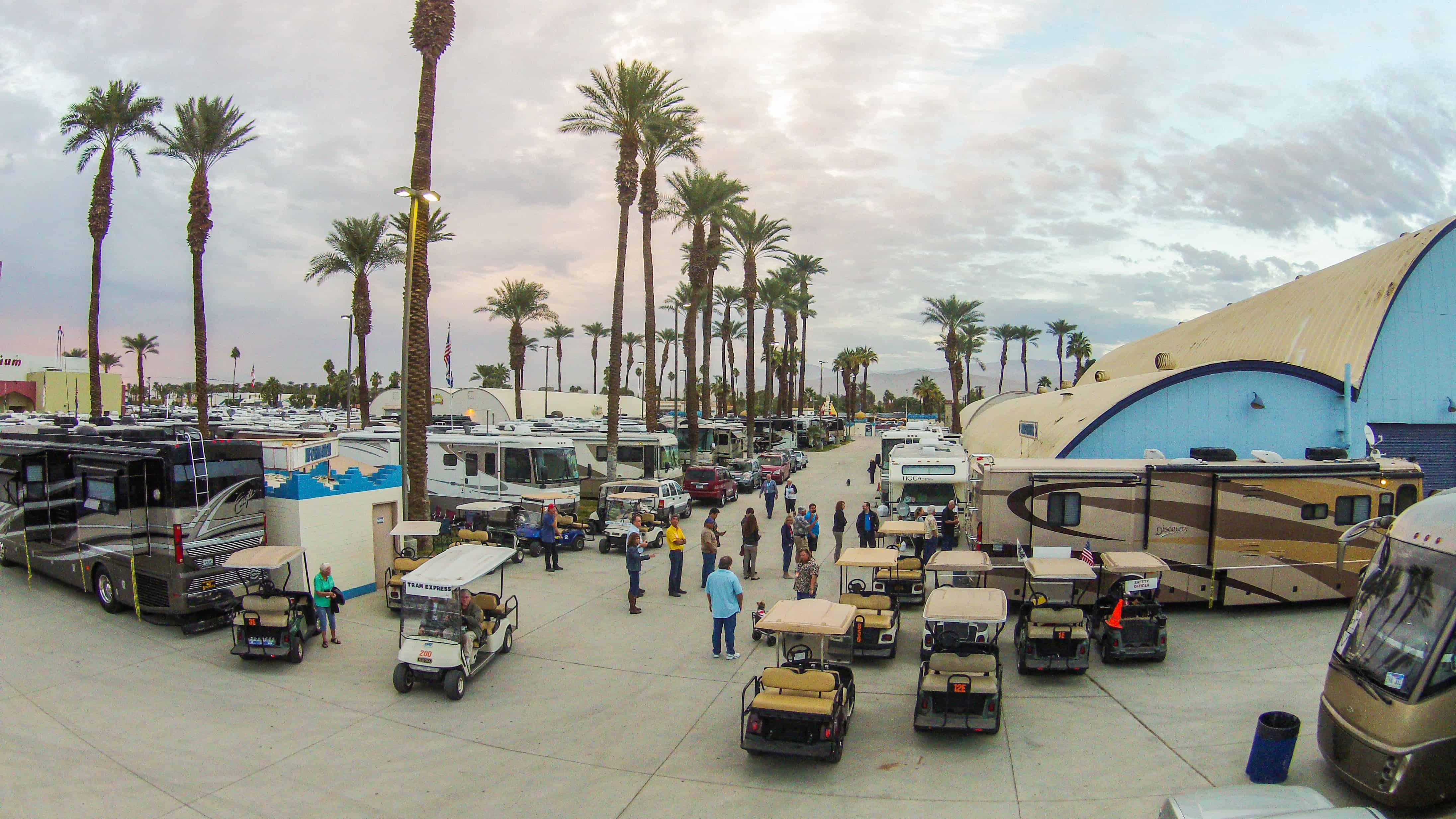 FMCA RV Rally Indio California